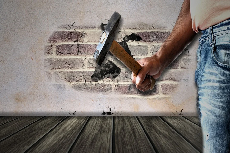 opening up a wall